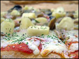 Chicken Fajita Pizza recipe