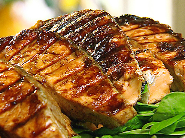Barbecue salmon fish recipe barbecue salmon dish cooking for Bbq fish recipes