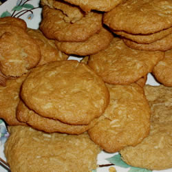 Chewy Coconut Cookies cookie recipe - chewy coconut cookies dish ...
