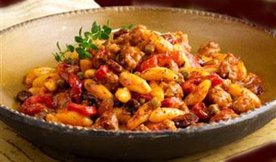Chicken Cavatelli pasta recipe - chicken cavatelli dish cooking