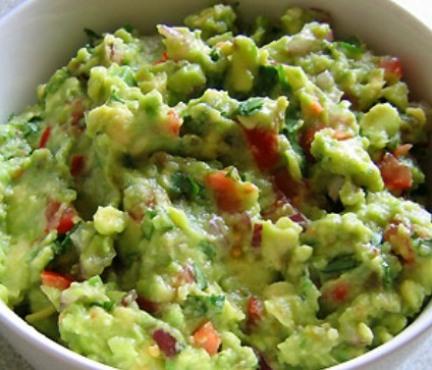 Guacamole salad recipe - guacamole dish cooking