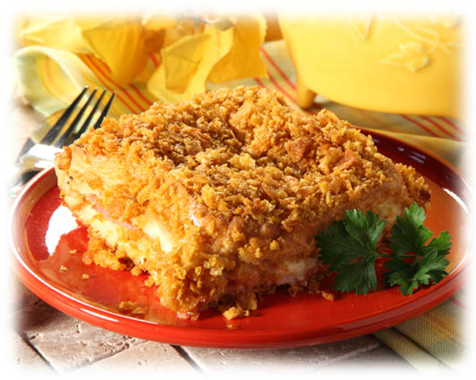 Ham & Cheese Strata main dish recipe - ham & cheese strata dish ...