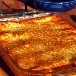 Italian Baked Cannelloni pasta recipe - italian baked cannelloni dish ...