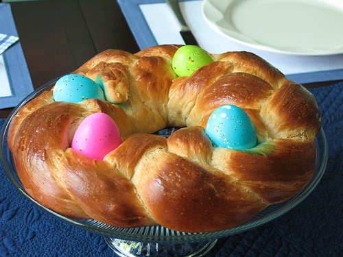 Braided Easter Bread dessert recipe - italian braided easter bread ...