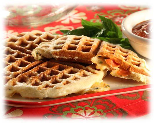 Italian Waffles Main Dish Recipe