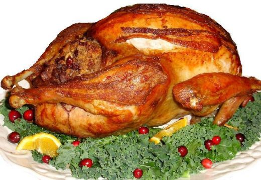 how to cook a stuffed turkey