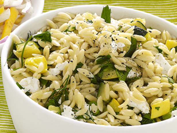 Orzo Salad With Zucchini and Feta pasta recipe - orzo salad with ...