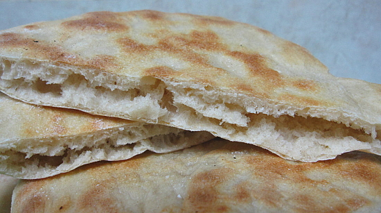 Syrian Pita Bread Bread Recipe Syrian Pita Bread Dish