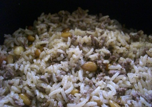 Syrian Rice Side Dish Recipe Syrian Rice Dish Cooking